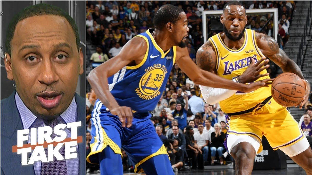 NBA stars want to beat LeBron, not play with him Stephen
