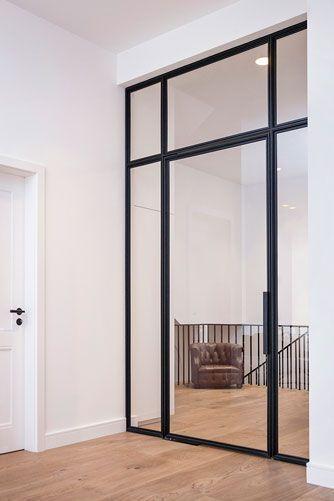 Stahl – Glas – Türen – Stahl-Loft-Türen #eingangsbereichhaus…