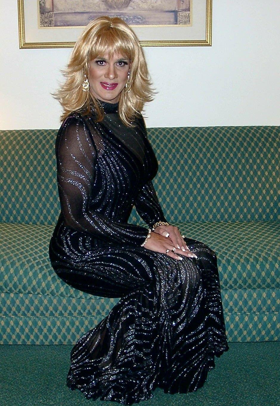 Transvestite formal wear pic