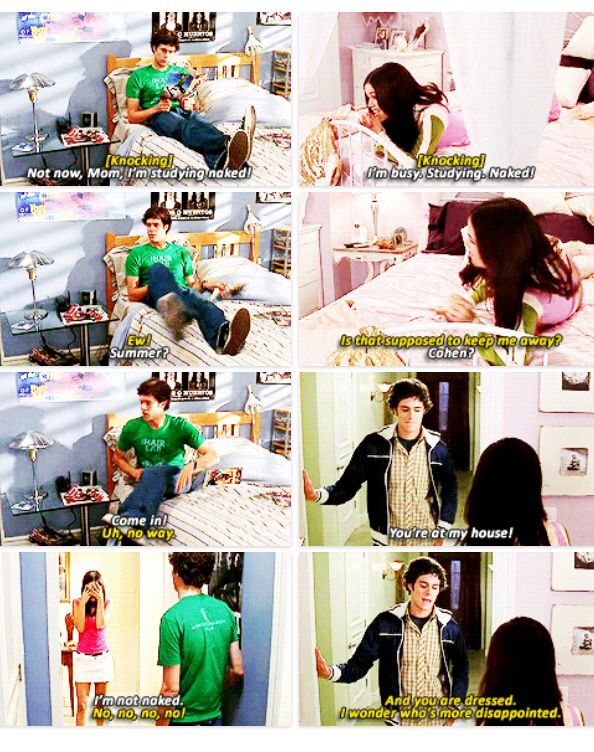The Oc Summer and Seth Funny