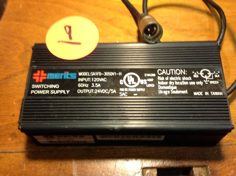 Mighty Max 24V 5A Battery Charger for Global Research