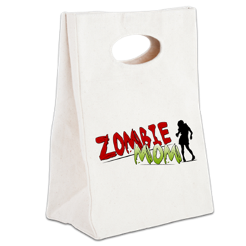 Zombie Mom Canvas Lunch Tote
