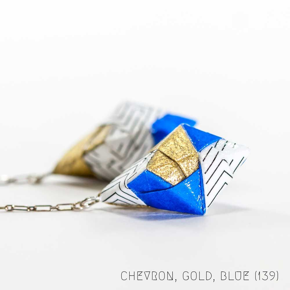 Photo of Geo Paper Diamond Earrings