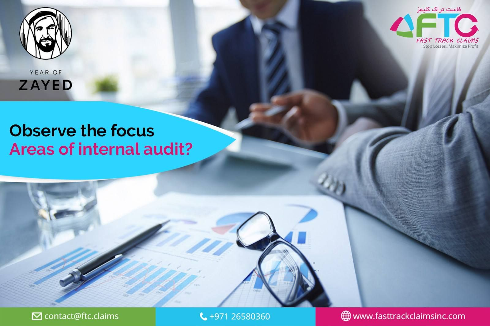 The Focus Areas Of Internal Audit Are As Follows