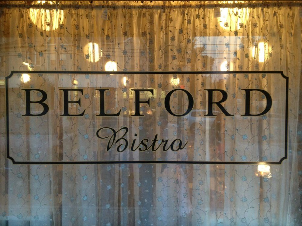 BYOB - Belford, Belford Bistro, compared to Drew's Bistro