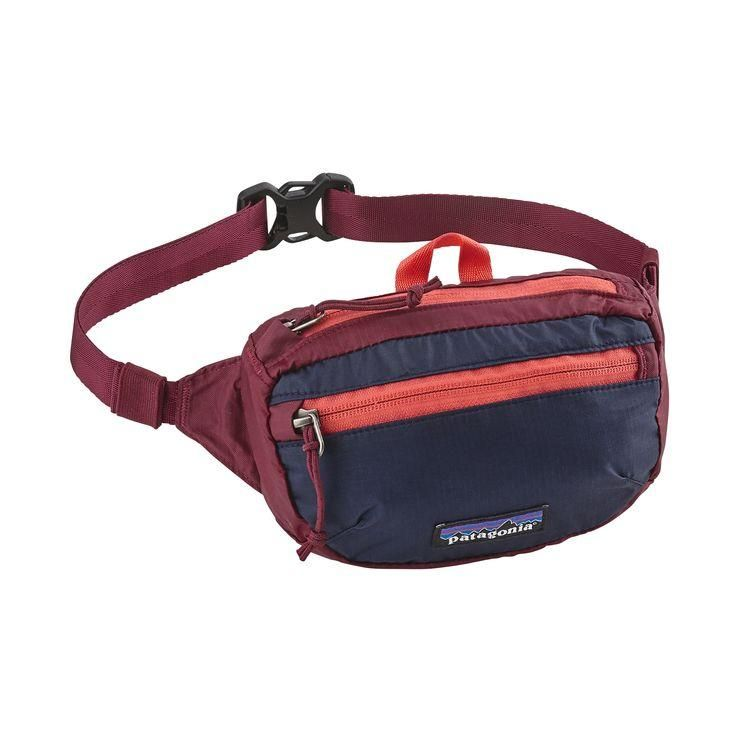 Patagonia Lightweight Travel Mini Hip Pack 1L Arrow Red