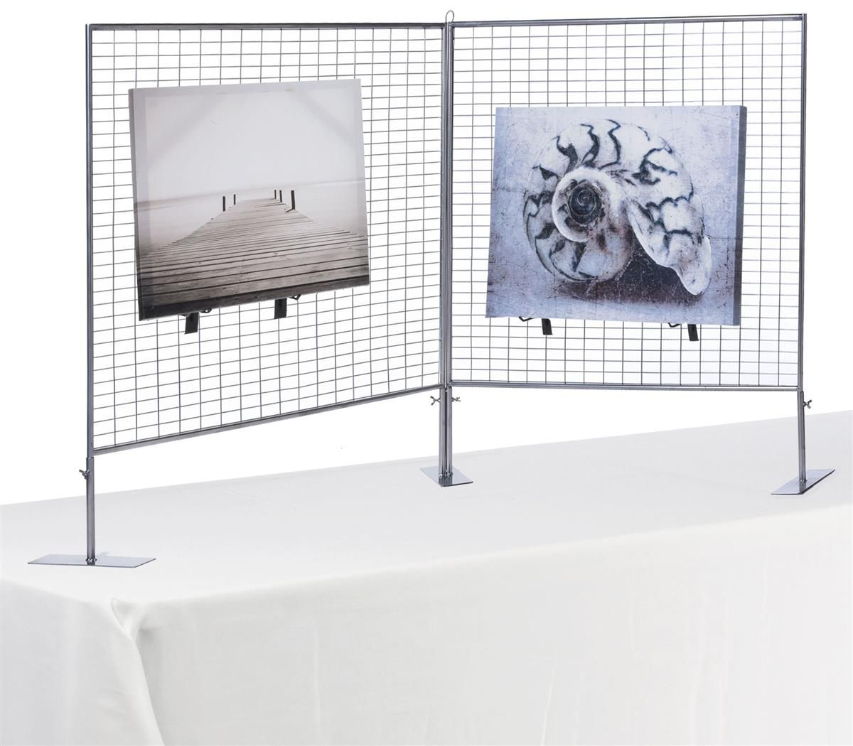 Art Display Grid For Countertop V Shaped 2 3 X 3 Panels