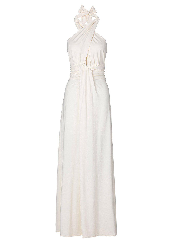 Bodyflirt Boutique Maxikleid Neckholder Creme Gr 40 X2f 42 Amazon De Bekleidung Kleiderstile Bodenlange Kleider Sommerkleid