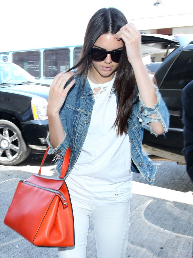 c3c216ccd055 The Many Bags of Celebrities at LAX ~ Céline Edge Bag