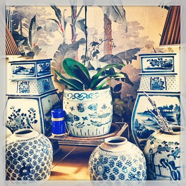Blue and white, a classic!