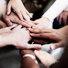 Team Teamwork Join Hands Partnership Concept Stock Photo Goodbye For Now Branding Mood Board Stock Photos