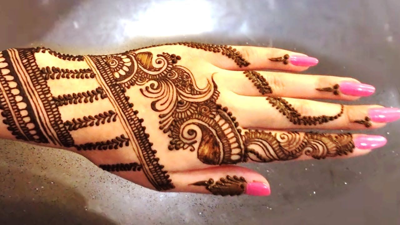 Mehndi Designs Latest New Style : Latest mehndi designs new style step
