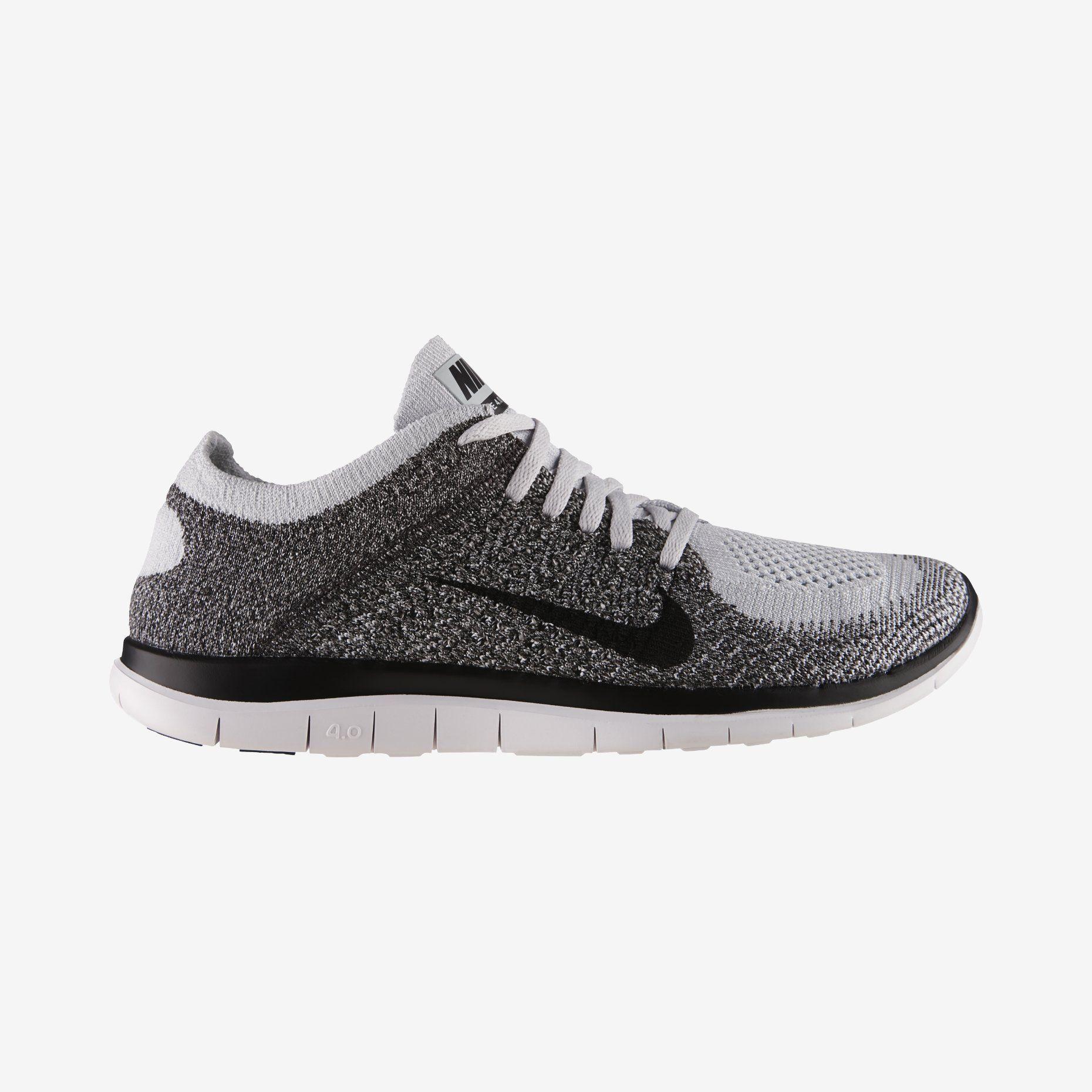 The Nike Free 4.0 Flyknit Men's Running
