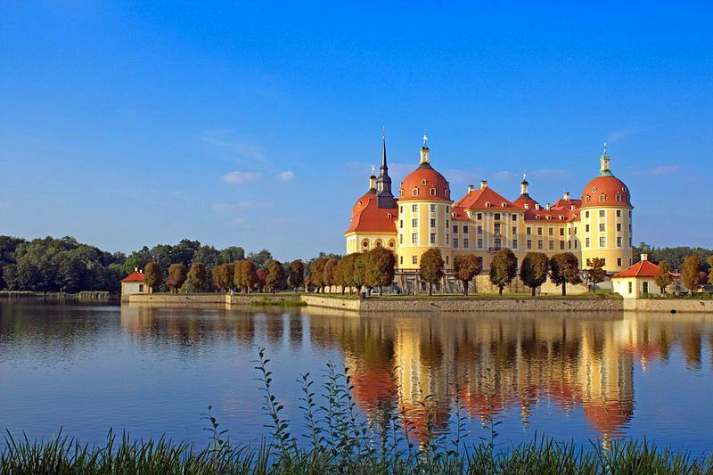 Deutschland Schloss Moritzburg Moritzburg Schloss