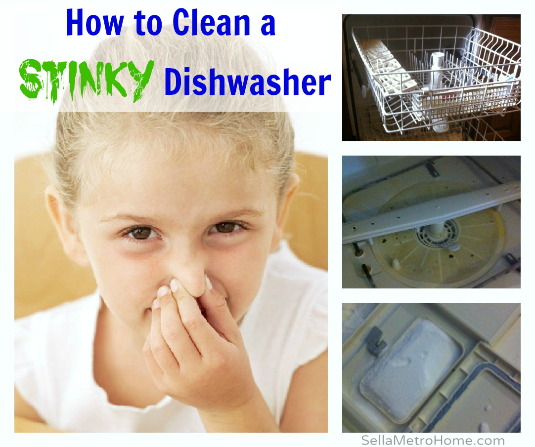 how to clean a stinky dishwasher sell a house cleaning homemade cleaning products cleaning. Black Bedroom Furniture Sets. Home Design Ideas
