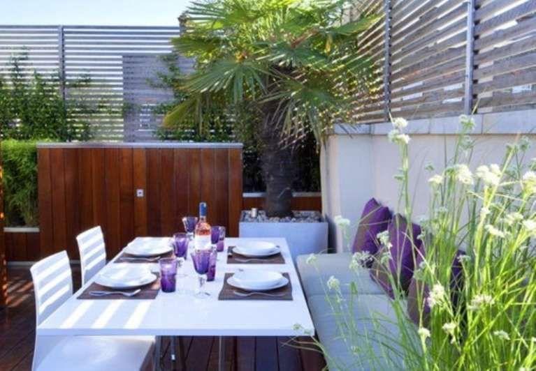 Come arredare un terrazzo moderno - Terrazzo coperto moderno | Un ...