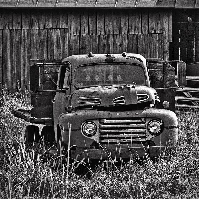 """Ford Truck, Grove Family Farm, """"Reminiscent Of Fading Dreams"""", Bluemont, Virginia by Gerald L. Campbell, via Flickr"""