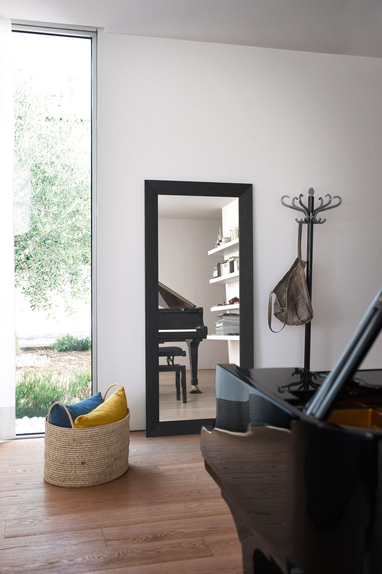 DOUBLE is a large mirror suitable for living areas as well as ...
