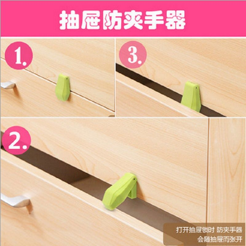 4Pcs Kids Protection Baby Security Lock for Drawer Cabinet Door Safety Lock
