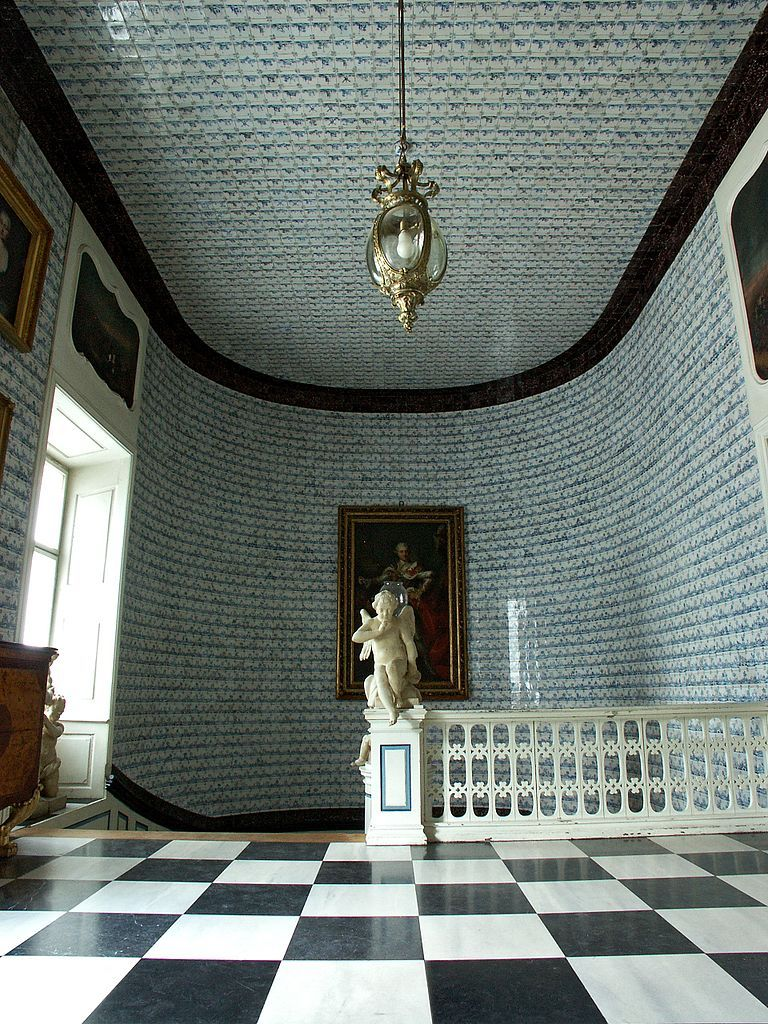 Best Nieborów Palace Poland Main Staircase With Dutch Tiles 400 x 300