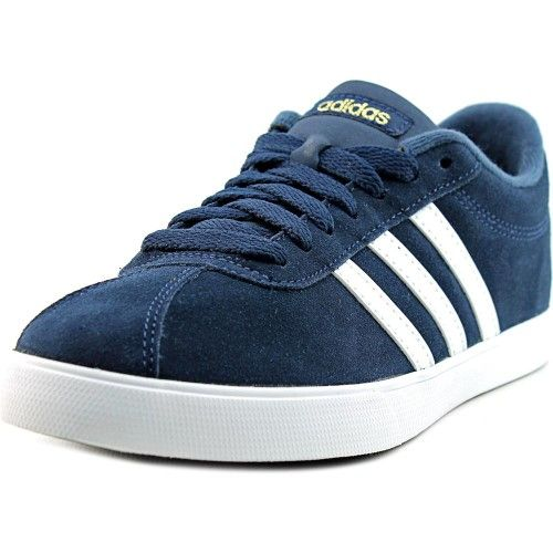 Suede shoes women, Adidas courtset