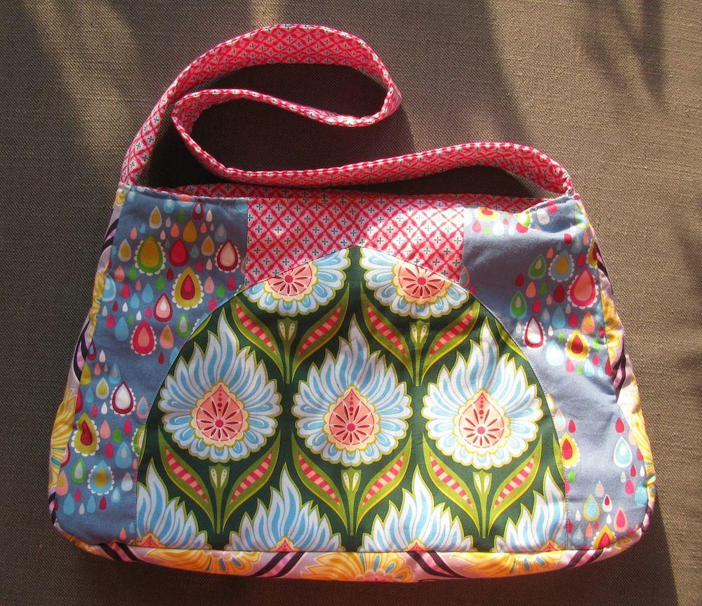 Fat Quarter Bag Freebie | tasche | Pinterest | Nähen schnittmuster ...