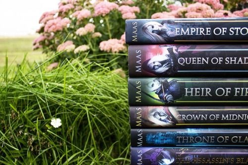 """taylorreadsbooks: """" My reading goal for September and October is to get caught up on this series. ❤ """""""