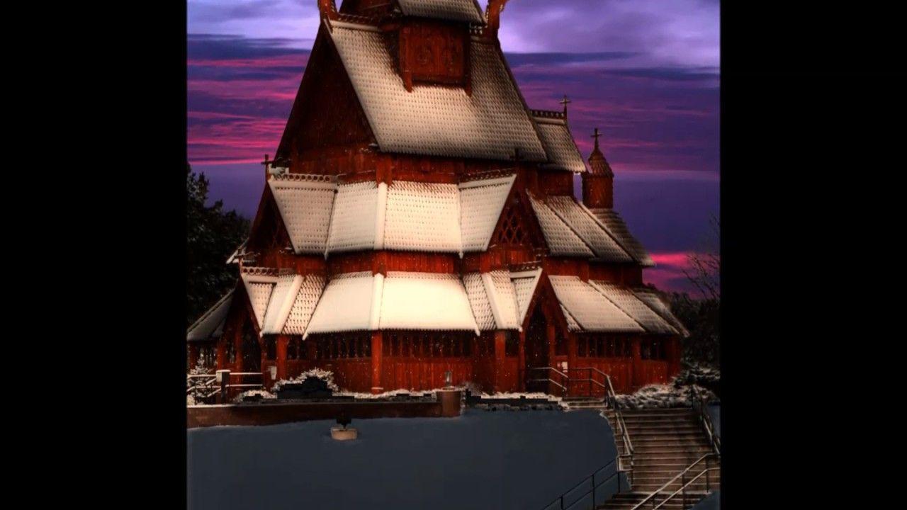 Minot Nd The Scandinavian Heritage Park Gol Church Scandinavian Church Gol
