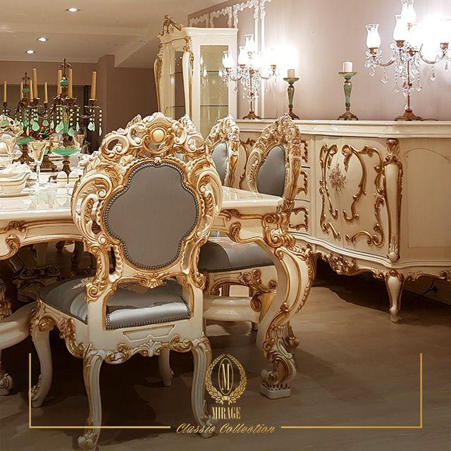 Please DM for your inquiries.   Modelimiz hakkında detaylı bilgi ve fiyatlar için bize DM yoluyla ulaşabilirsiniz...    Showroom / İstanbul / Masko / Modoko /Kozyatağı / Florya⠀  #miragemobilya #yemekodasi #konsol #yemekodasıtakımı #diningroom #consoletable #dinnerchair #diningtable #designinspo #beautifuldecorstyles #interiordecoration #luxuryfurniture #interiordesign #project