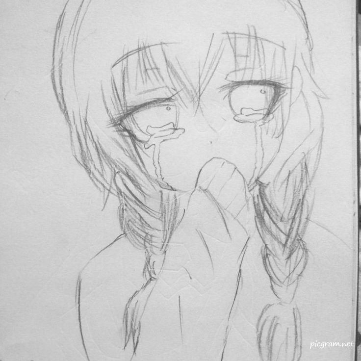 Pin On Sad Drawings