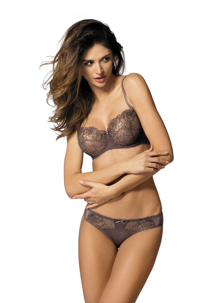 Gorteks Pamela Mocha Soft Cup Bra - Charm and Lace Lingerie Boutique