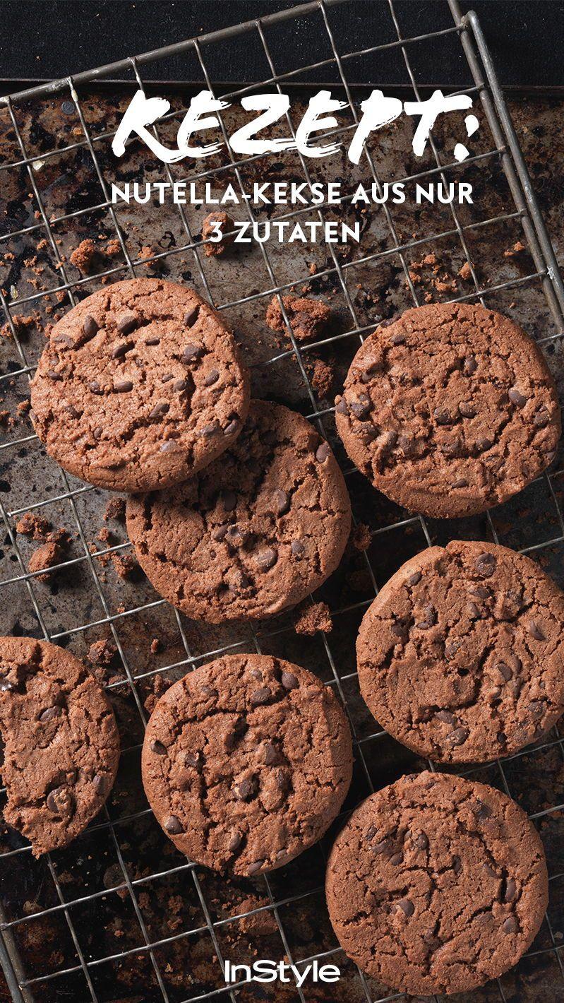 Für diese Nutella-Kekse brauchst du nur 3 Zutaten #lemonade