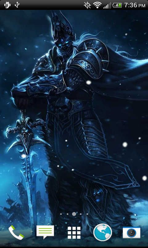 Free Lich King Livewallpaper Hd Apk Download For Android