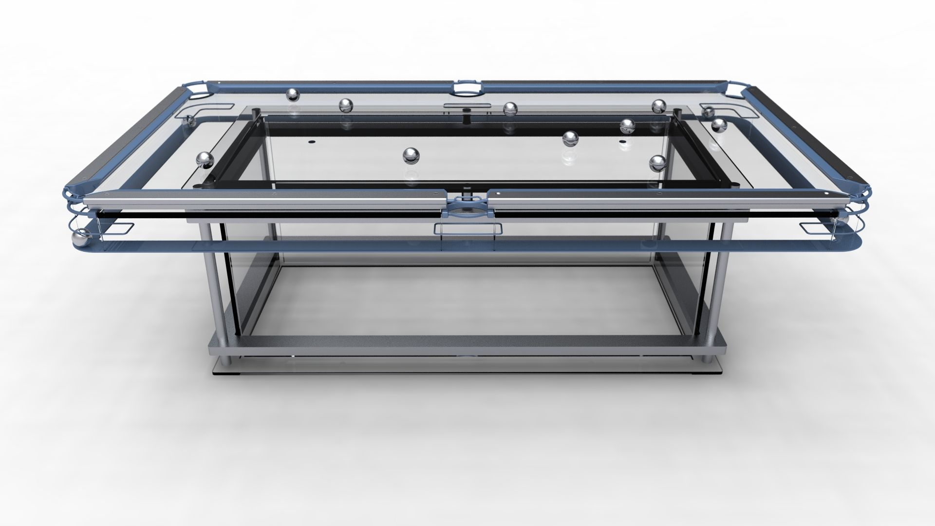Designer G7 Glass Pool Table By Elite Innovations