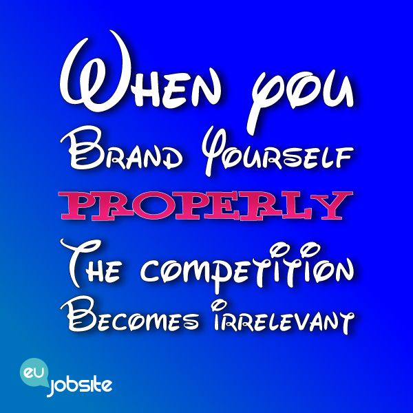 When You Brand Yourself Properly The Competition Becomes Irrelevant Digital Advertising Ideas Branding Agency Image Quotes