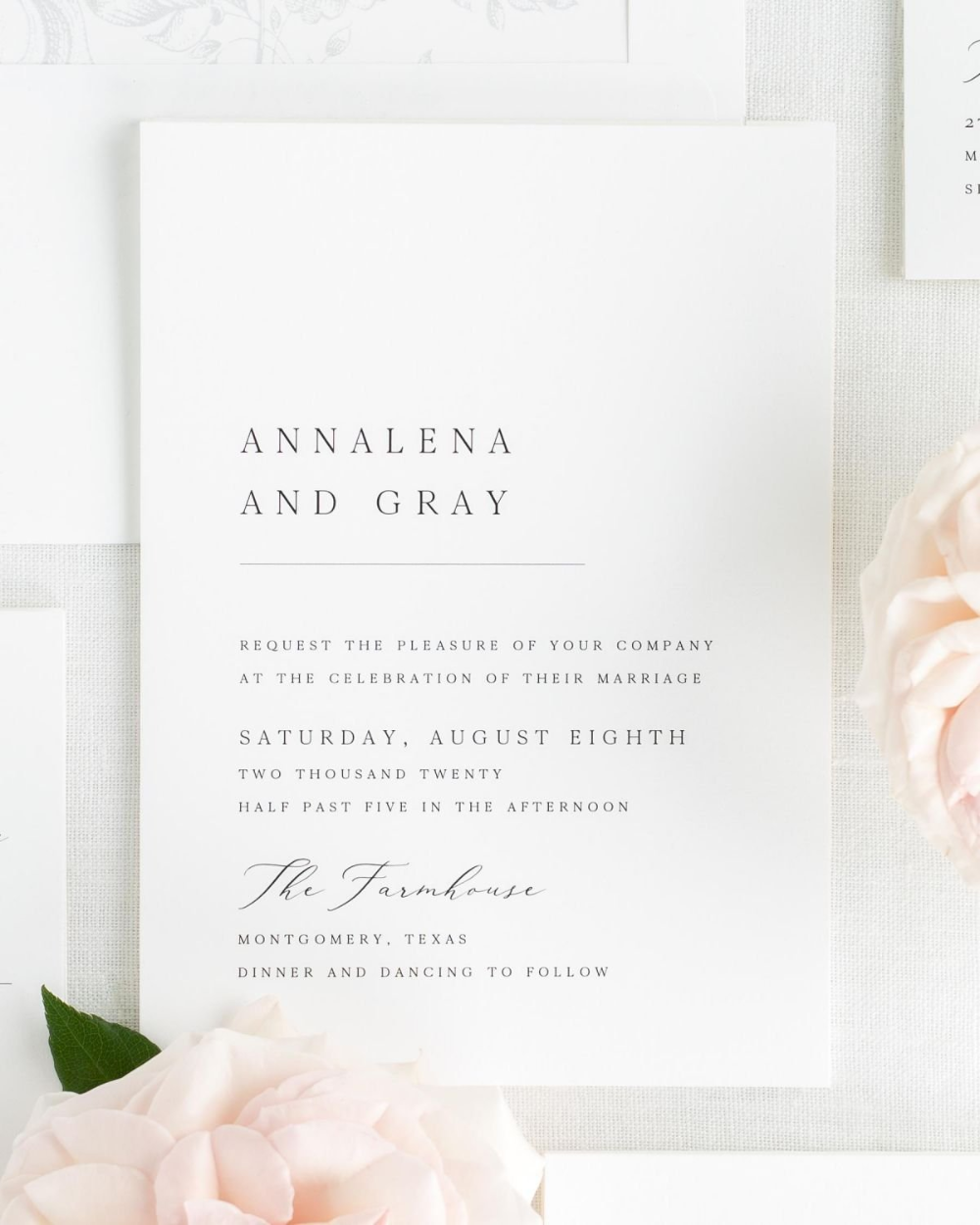 Annalena Wedding Invitations