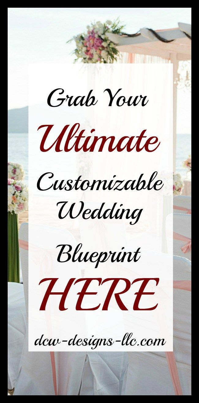 Last minute diy wedding decorations  Ultimate Checklist of Things To Do A Week Before Your Wedding I DCW