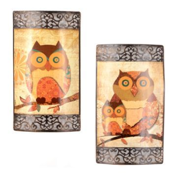 Owl Family Portrait Metal Wall Plaque | Owl family, Metal walls and Owl