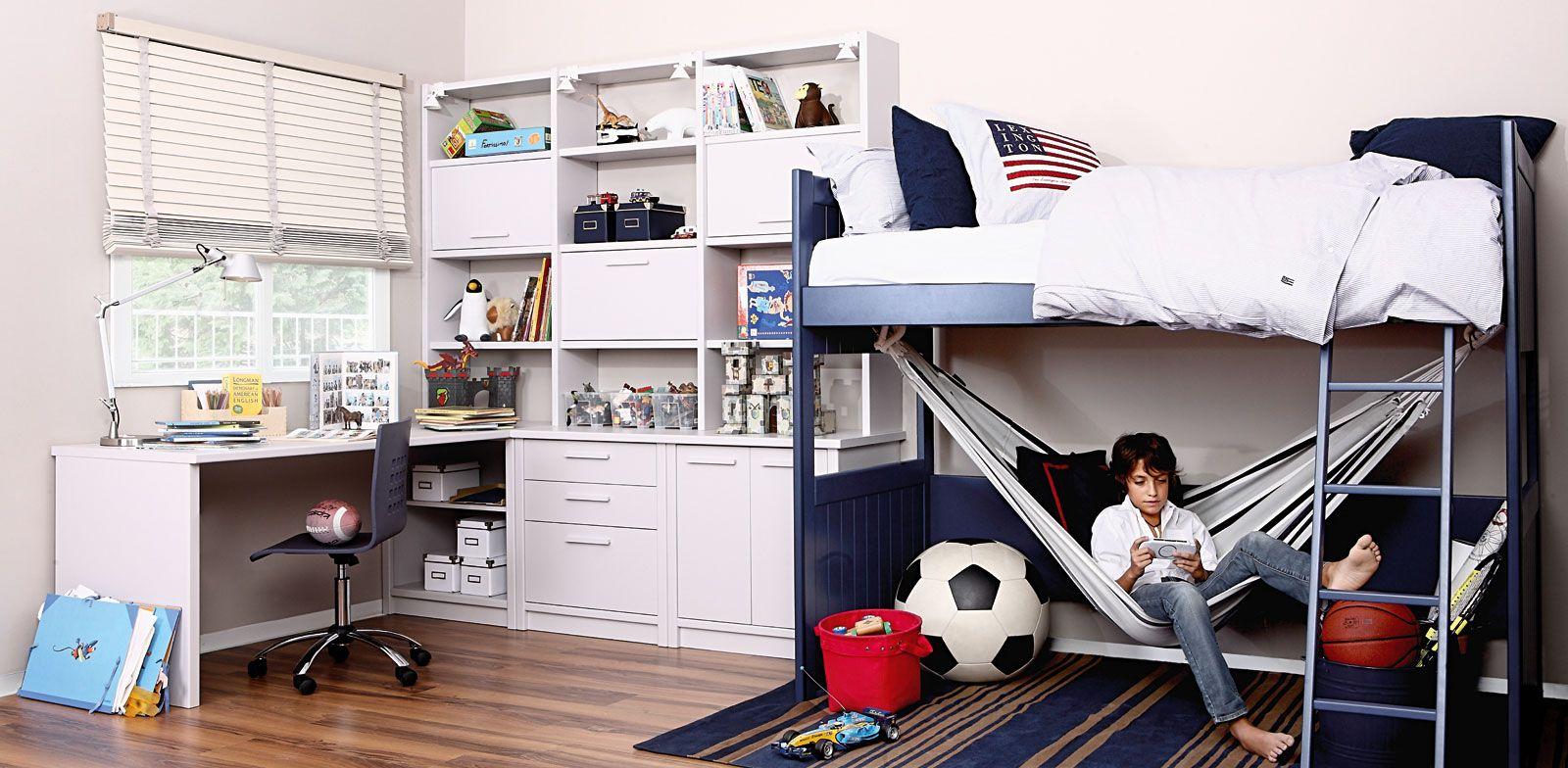 Cuarto decorado moderno habitaciones para ni os for Color del dormitorio de los padres