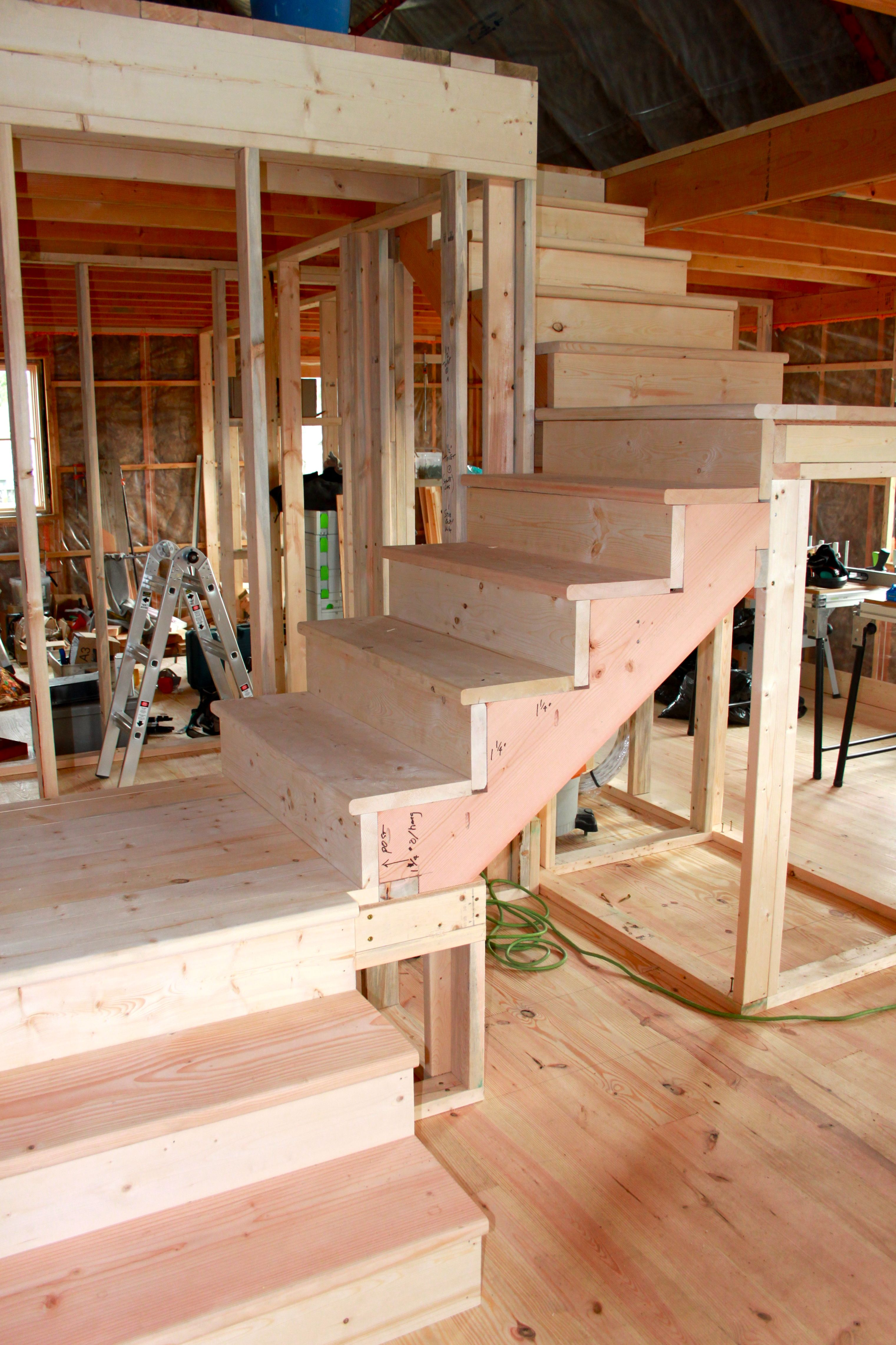January basement stairs cabin plans tiny also best house ideas images in diy for home bath rh pinterest