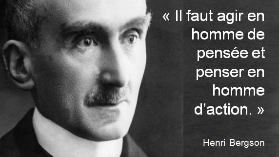 Il Faut Agir En Homme De Pensee Et Penser En Homme D Action Bergson Einstein Historical Figures