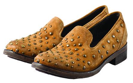 [HNGR 3497 PERLAGE OCHER] #hangar #shoes #oxford #style #ocher