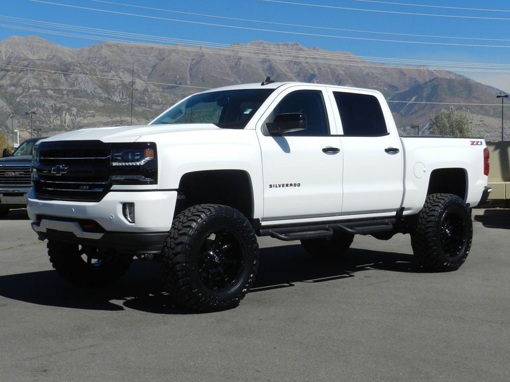 For Sale 2018 Chevrolet Silverado 1500 Ltz Z71 Red Line Lifted
