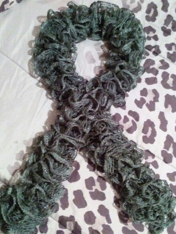 Sashay scarf- Grey | My Crochet Projects | Pinterest | Sashay scarf ...
