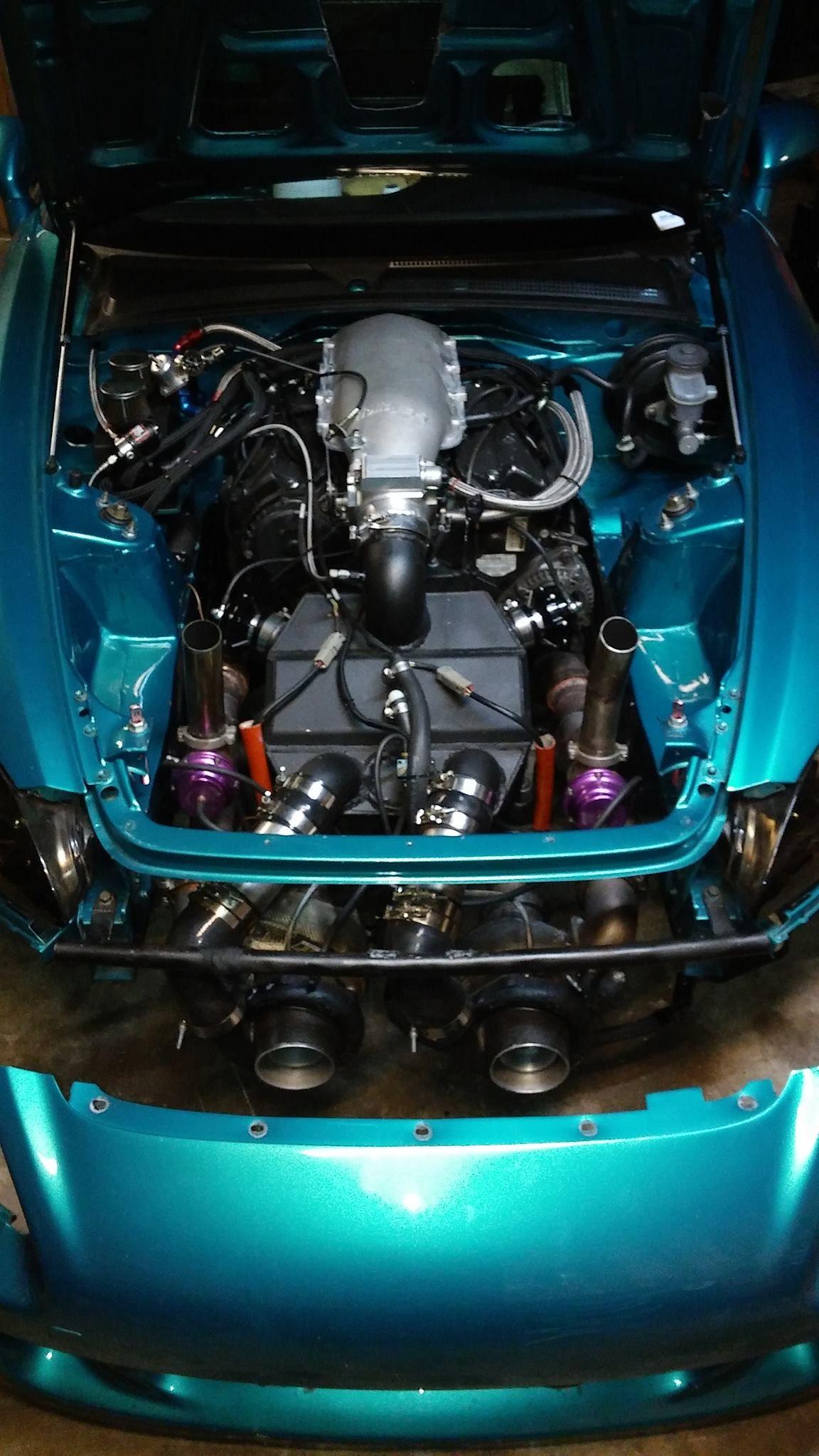 Honda S2000 With A Twin Turbo J32 V6 Twin Turbo Honda Accord Turbo
