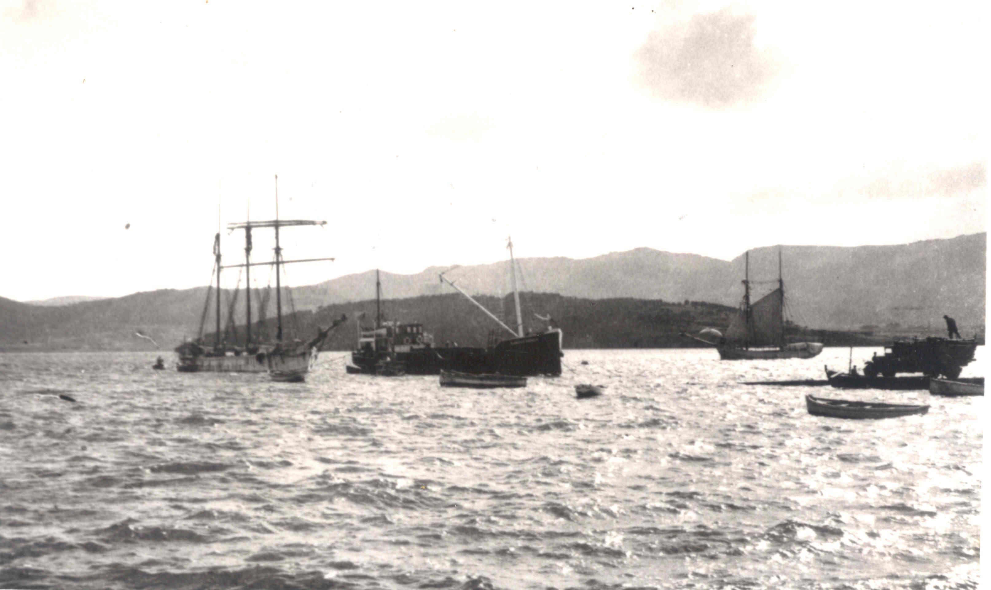 Puerto de Ortiguiera 1964