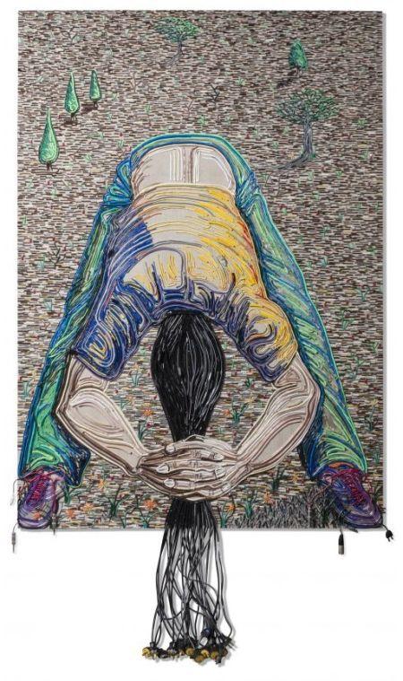 A arte com fios e cabos elétricos de Federico Uribe