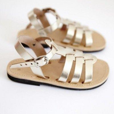 Gladiator Sandles - Gold