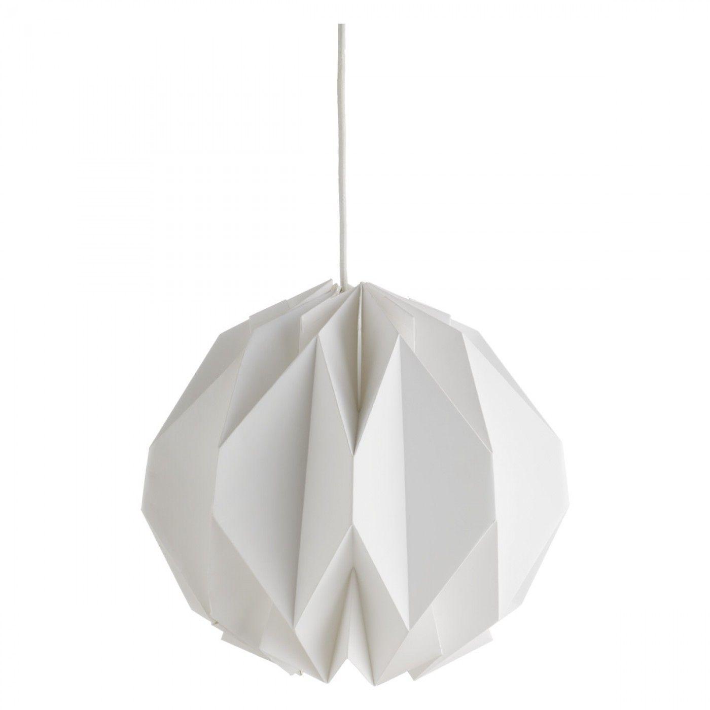 Buy habitat kura origami paper shade white lamp shades