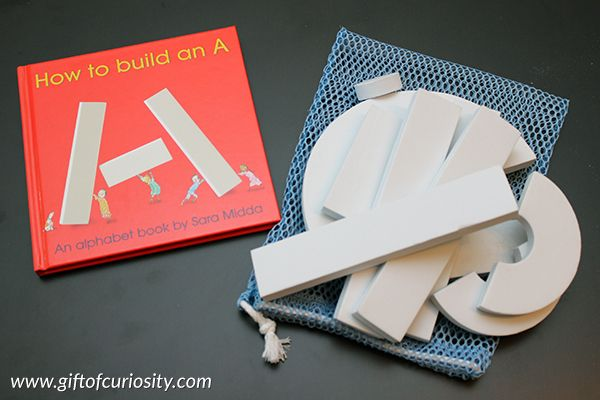 Building Letters With Foam Blocks  Learning Activities